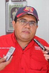 Con el voluntariado del PSUV y la Alcaldía de Ribas